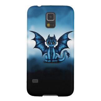 Funda Para Galaxy S5 Azul de Dragonbaby