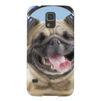 Funda Para Galaxy S5 Barro amasado con los auriculares, barro amasado,