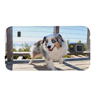 Funda Para Galaxy S5 Bennett - mini australiano - Rosie - playa de