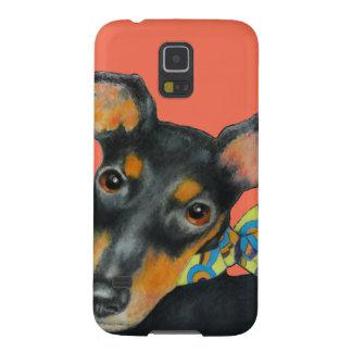 Funda Para Galaxy S5 Bufanda Manchester Terrier de Pucci