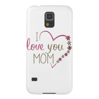 Funda Para Galaxy S5 Corazón del día de madres de la mamá del amor