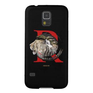 Funda Para Galaxy S5 Diseño majestuoso personalizado del león y de la