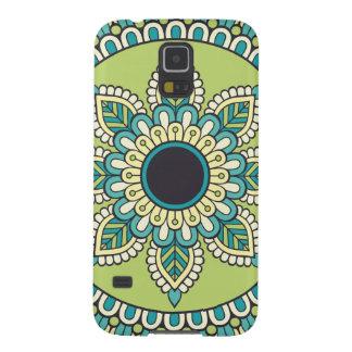 Funda Para Galaxy S5 Diseño verde hermoso de Boho