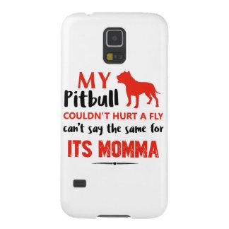 Funda Para Galaxy S5 Diseños divertidos de la mamá del pitbull