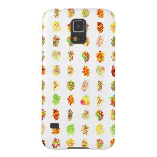 Funda Para Galaxy S5 Dulces y fondo inconsútiles del modelo del