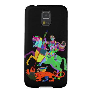Funda Para Galaxy S5 El guerrero mata a un dragón