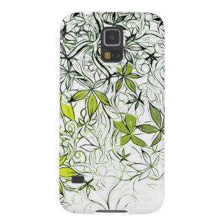 Funda Para Galaxy S5 Fondo floral moderno 234