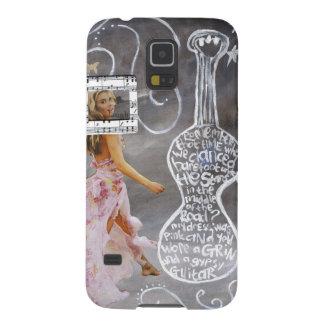 """Funda Para Galaxy S5 Galaxia S5, caja """"gitano """" de Samsung del teléfono"""