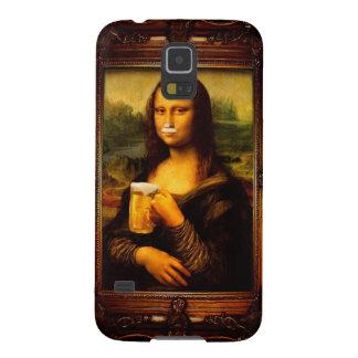 Funda Para Galaxy S5 Mona Lisa - cerveza de Mona Lisa - Lisa-cerveza