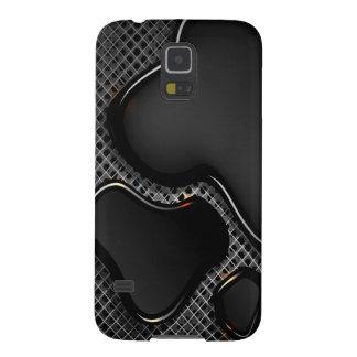 Funda Para Galaxy S5 Negro futurista Samsung líquido s5 del extracto