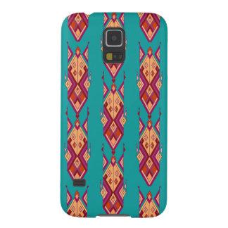 Funda Para Galaxy S5 Ornamento azteca tribal étnico del vintage