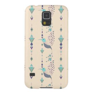 Funda Para Galaxy S5 Pájaro azteca tribal étnico del vintage