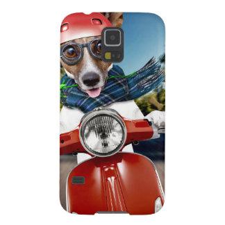Funda Para Galaxy S5 Perro de la vespa, enchufe Russell