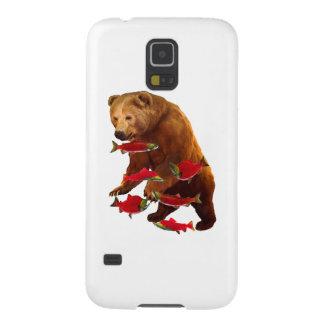 Funda Para Galaxy S5 Pesca de color salmón