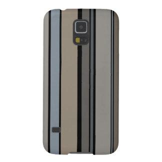 Funda Para Galaxy S5 Rayas modernas silenciadas