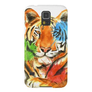 Funda Para Galaxy S5 Salpicadura del tigre