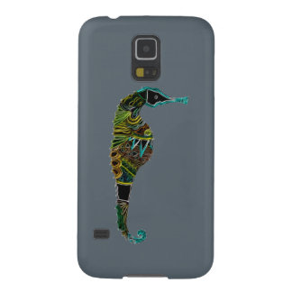 Funda Para Galaxy S5 Seahorse de neón