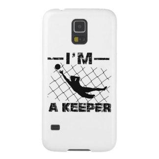 Funda Para Galaxy S5 Soy encargado - diseños del portero del fútbol
