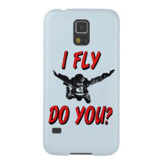 Funda Para Galaxy S5 ¿Vuelo, hace usted? (negro)