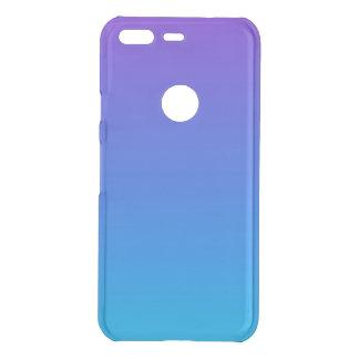 Funda Para Google Pixel De Uncommon Caja azul y púrpura de Clearly™ del pixel de Ombre