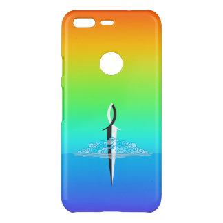 Funda Para Google Pixel De Uncommon Con/arco iris de la nube y del mar de la espada de