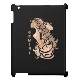 Funda Para iPad 2, 3, 4 Diseño del zodiaco de los géminis
