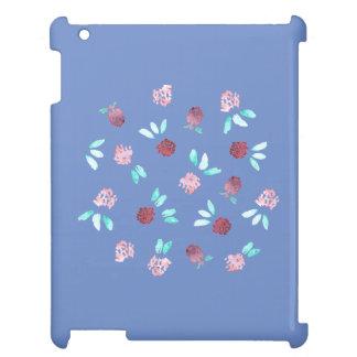 Funda Para iPad 2, 3, 4 El trébol florece la caja brillante del iPad