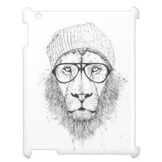 Funda Para iPad 2, 3, 4 León fresco (blanco y negro)