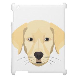Funda Para iPad 2, 3, 4 Perrito Retriver de oro del ilustracion