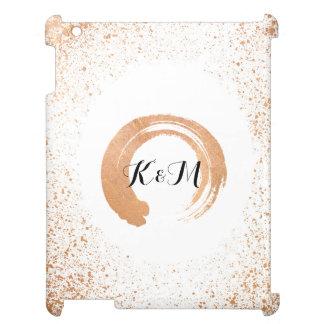 Funda Para iPad 2, 3, 4 regalos de cobre de la colección del boda del