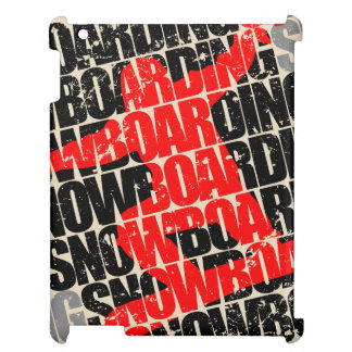 Funda Para iPad 2, 3, 4 Snowboard #1 (negro)