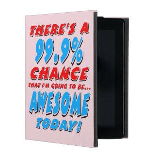 Funda Para iPad 99,9% El IR A SER IMPRESIONANTE (negro)