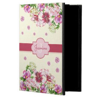 Funda Para iPad Air 2 Amarillo floral del lirio y del Peony