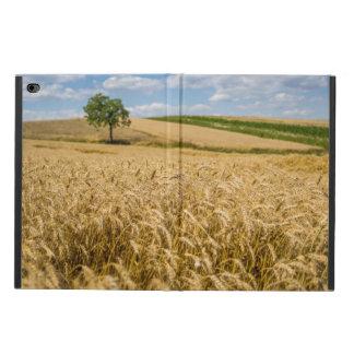 Funda Para iPad Air 2 Árbol en paisaje del campo de trigo