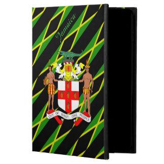 Funda Para iPad Air 2 Bandera jamaicana de las rayas