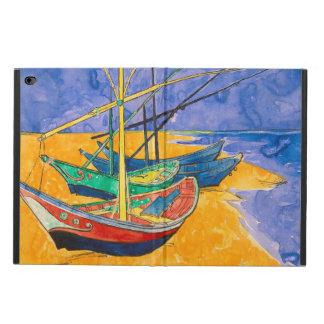 Funda Para iPad Air 2 Barcos de Van Gogh en la playa de Saintes-Maries