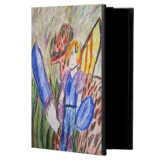 Funda Para iPad Air 2 caballero y dragón