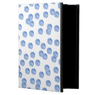 Funda Para iPad Air 2 Caja azul del aire 2 del iPad de los lunares sin
