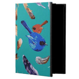 Funda Para iPad Air 2 Caja azul del aire 2 del iPad del pájaro sin
