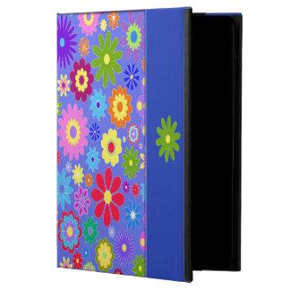 Funda Para iPad Air 2 Caja colorida del aire de Ipad de las flores
