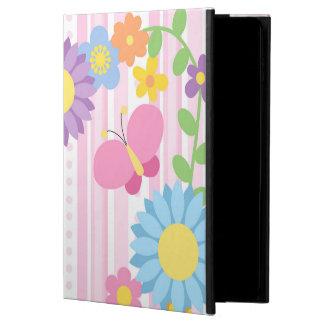 Funda Para iPad Air 2 Caja del aire 2 del iPad de las flores