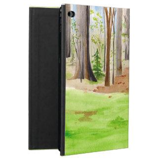 Funda Para iPad Air 2 Caja del aire de Ipad con los árboles