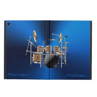 Funda Para iPad Air 2 Caja determinada del aire del iPad del tambor de
