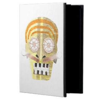 Funda Para iPad Air 2 Caja musical del aire 2 del Yo-Cojín del cráneo