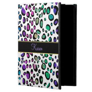 Funda Para iPad Air 2 Caso del iPad del estampado leopardo del brillo