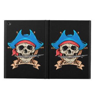 Funda Para iPad Air 2 Cuchillo penetrante del cráneo del pirata