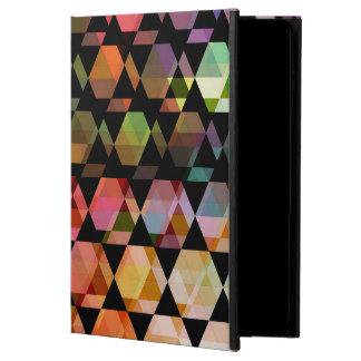 Funda Para iPad Air 2 Diseño gráfico del hexágono abstracto