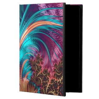 Funda Para iPad Air 2 Diseño hermoso de la pluma del fractal