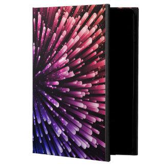 Funda Para iPad Air 2 Diseño rojo y azul fresco de la explosión