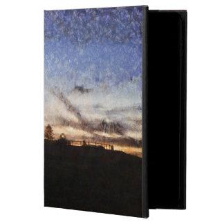 Funda Para iPad Air 2 Faro en la puesta del sol